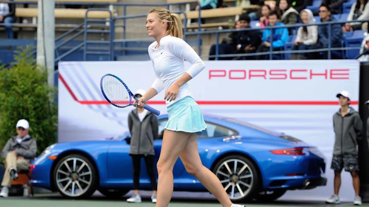 La ex tenista rusa Maria Sharapova es todo un icono del deporte y la moda