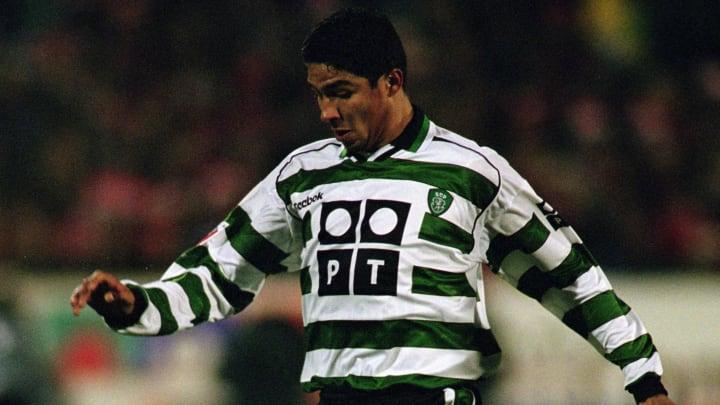 Mario Jardel of Sporting Lisbon