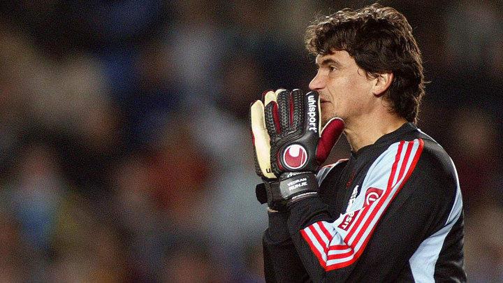 Marseille's Croatian goalkeeper Vedran R
