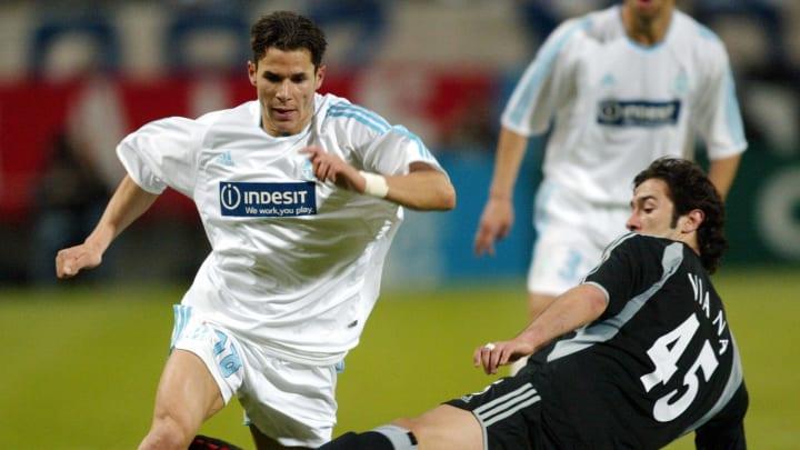 Marseille's French midfielder Camel Meri