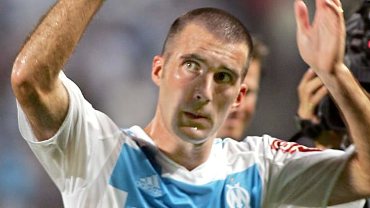 Marseille's midfielder Laurent Batlles c