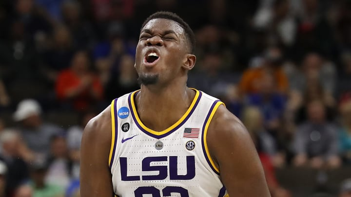 Sam Houston State vs LSU spread, line, odds, predictions, over/under and betting insights for Monday's NCAA college basketball game.