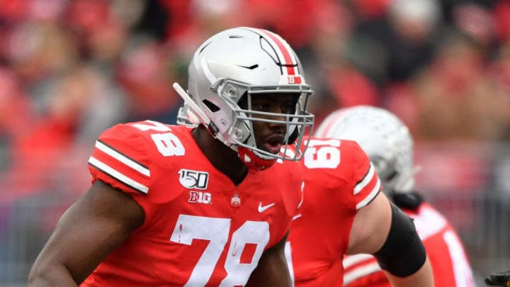 Offensive tackle Nicholas Petit-Frere has yet to win a starting job, but that could change this upcoming season.