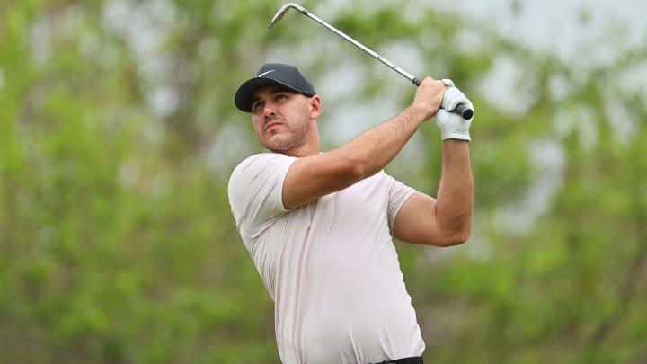 Brooks Koepka at the Mayakoba Golf Classic - Round Two.