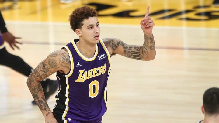 Kyle Kuzma, Memphis Grizzlies v Los Angeles Lakers
