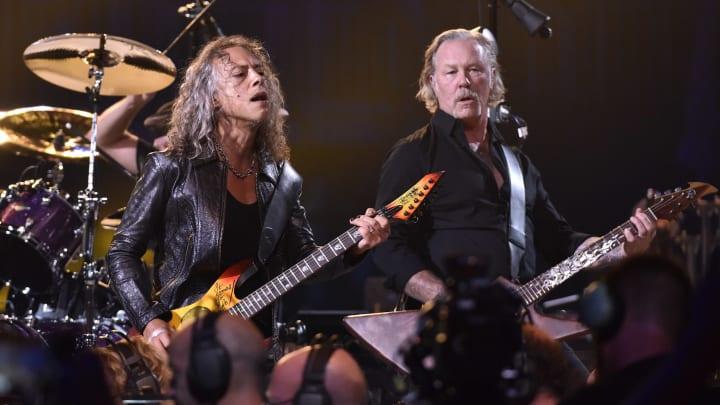 Kirk Hammett, James Hetfield