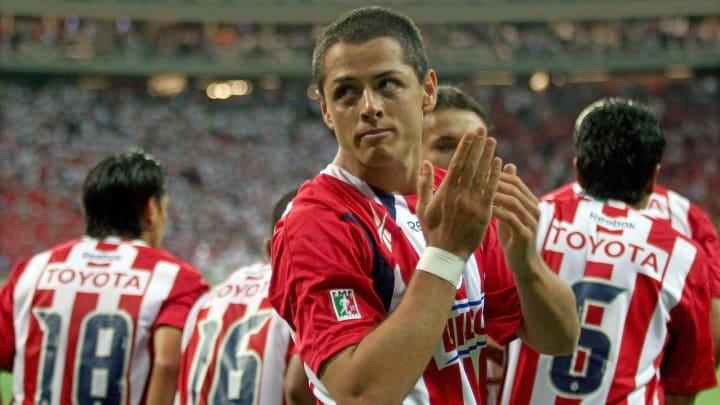Javier Hernández fue futbolista de Chivas entre 2006 y 2010