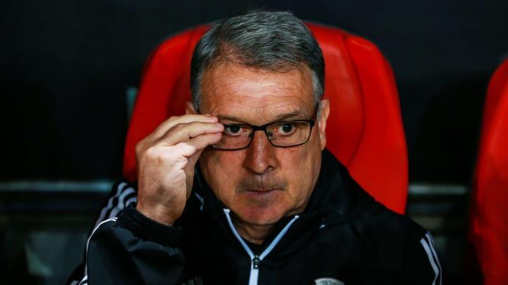 El entrenador Gerardo Martino.
