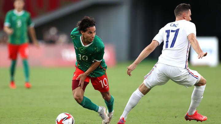 Diego Lainez a mystifié Anthony Caci lors de France-Mexique.