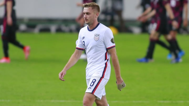 The USA failed to seal top spot in their Olympic qualifying group