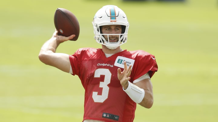 Josh Rosen, Miami Dolphins Training Camp