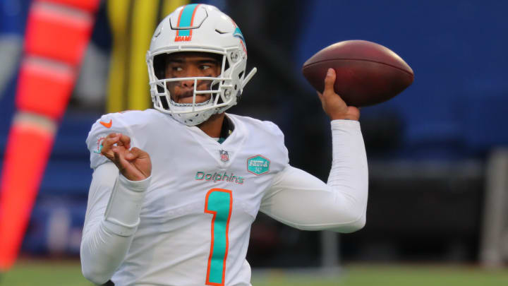 Tua Tagovailoa is handling the offseason the right way, according to Brian Flores.