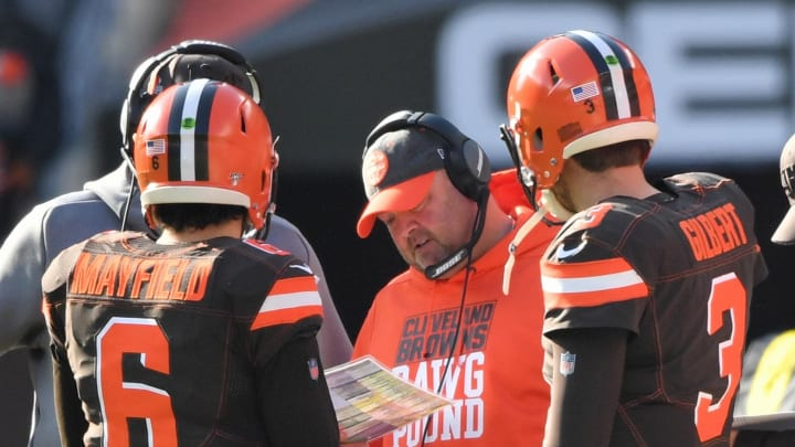 Colin Cowherd The Browns Must Fire Freddie Kitchens To Save Baker Mayfield