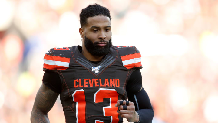 Cleveland Browns receiver Odell Beckham Jr. has been dealing with a painful hernia