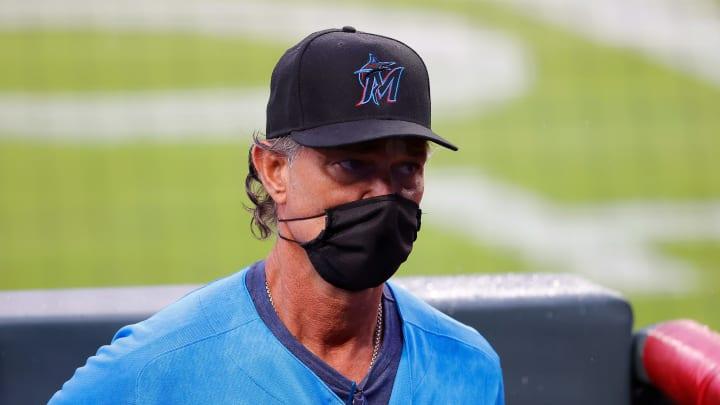 Don Mattingly, Miami Marlins v Atlanta Braves