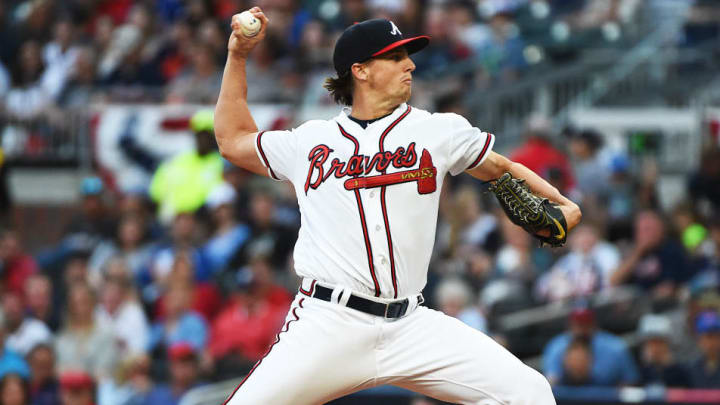 Braves young right-hander Kyle Wright