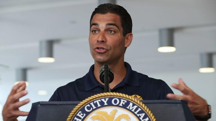 Miami Mayor And City Manager Hold Hurricane Season Kickoff Press Conference