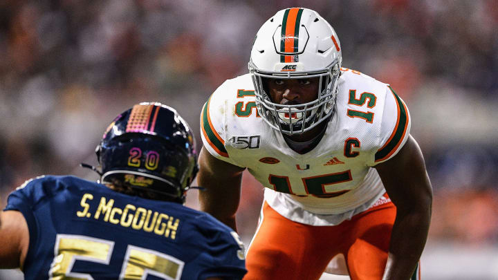 Gregory Rousseau NFL Draft predictions for 2021 NFL Draft.
