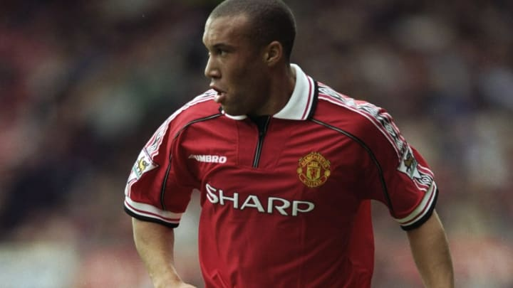 Michael Silvestre of Manchester United