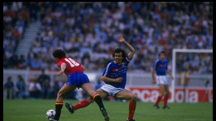 Michel Platini of France