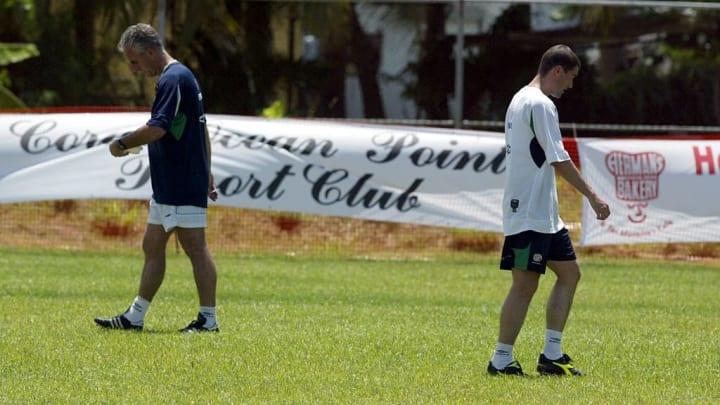 Mick McCarthy, Roy Keane