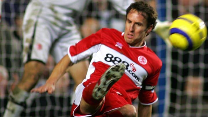 Middlesborough's Gareth Southgate (c) he