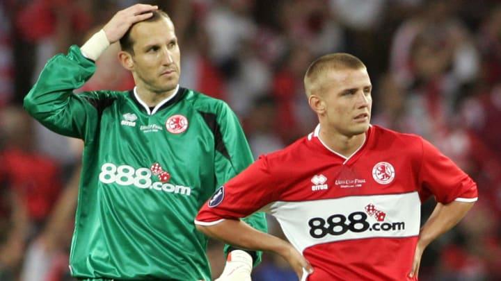 Middlesbrough 's Australian goalkeeper M
