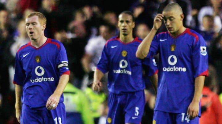 Paul Scholes, Rio Ferdinand, Alan Smith