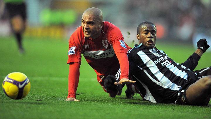 Middlesbrough's Brazilian forward Afonso
