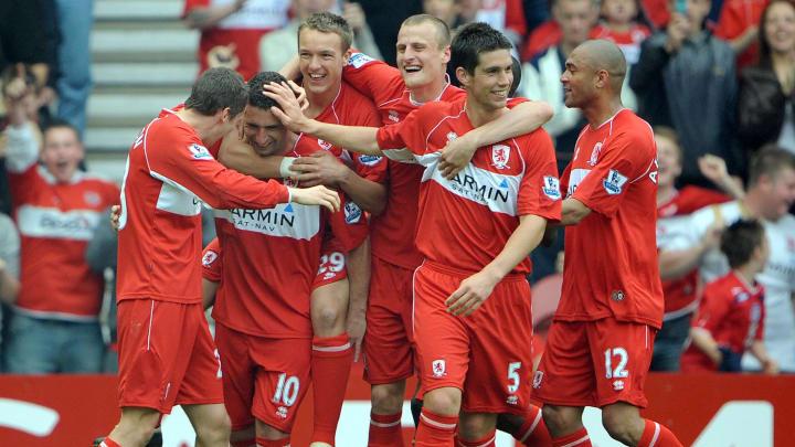 Middlesbrough's Brazilian midfielder Fab