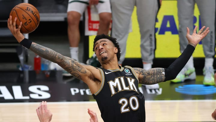 John Collins - Milwaukee Bucks v Atlanta Hawks - Game Six