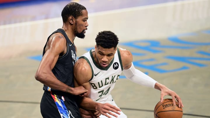 Kevin Durant has had the upper hand against Giannis Antetokounmpo in the playoffs.