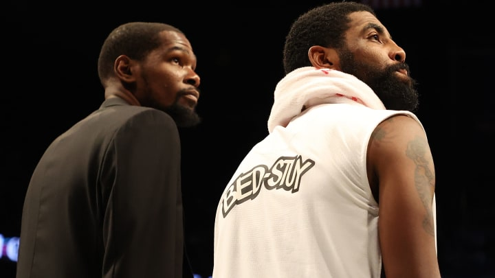 Kevin Durant and Kyrie Irving.