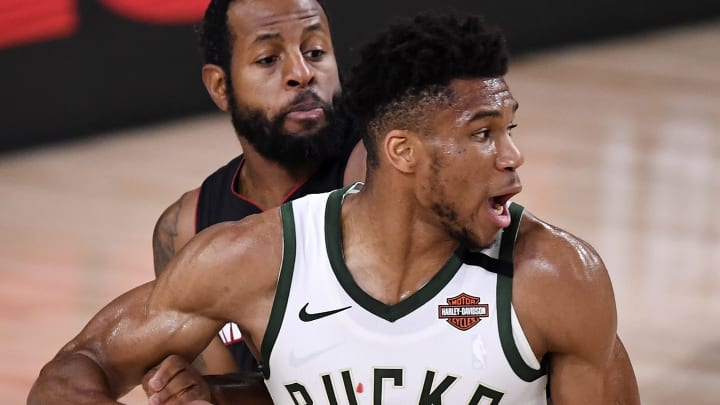 Giannis Antetokounmpo is favored to win the NFL MVP award.
