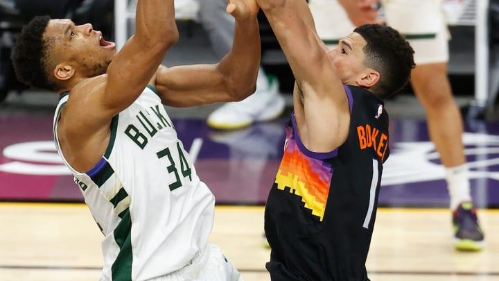 Phoenix Suns vs Milwaukee Bucks NBA Playoffs predictions, odds and schedule for NBA Finals series.