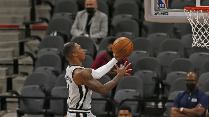 San Antonio Spurs Lonnie Walker