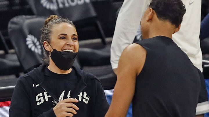 Becky Hammon - Milwaukee Bucks v San Antonio Spurs
