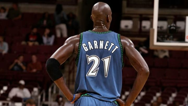Minnesota Timberwolves legend Kevin Garnett