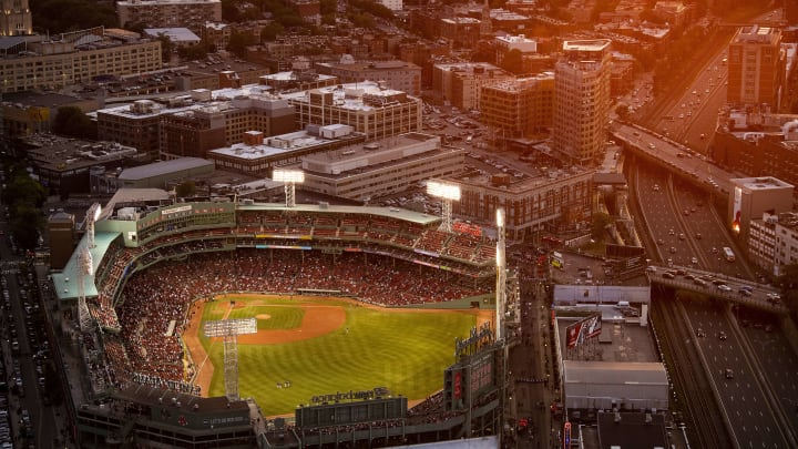 Fenway Park in Boston, home of the Red Sox