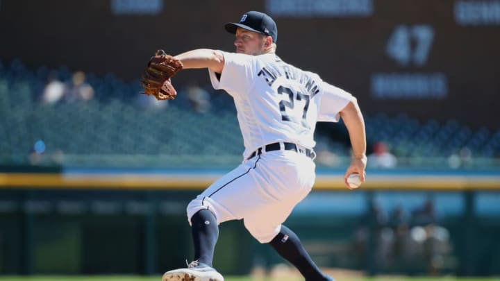 Detroit Tigers pitcher Jordan Zimmerman has one year remaining on his deal.