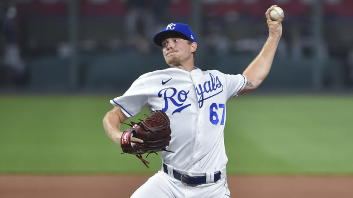 Kansas City Royals pitcher Gabe Speier made an incredible play to get an out in a recent Triple-A game.