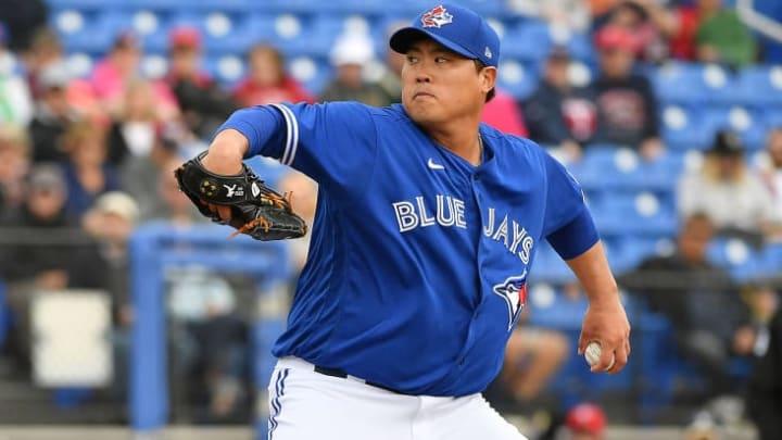 Toronto Blue Jays pitcher Hyun-Jin Ryu