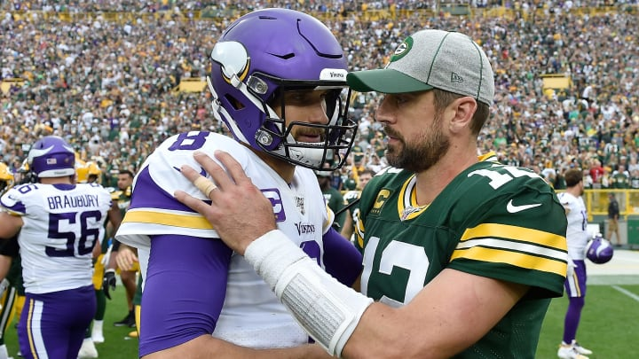 CBS Sports makes an absurd comparison between Aaron Rodgers and Kirk Cousins.