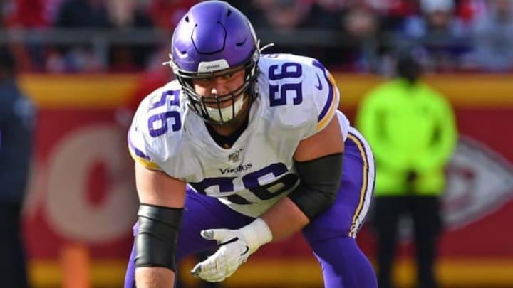 Minnesota Vikings OL Garrett Bradbury