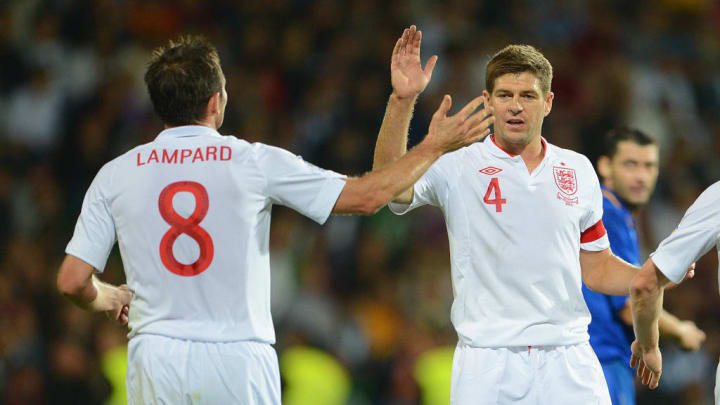 Frank Lampard, Steven gerrard Chelsea Liverpool Premier League