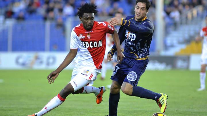 Monaco's forward Benjamin Moukandjo Bile