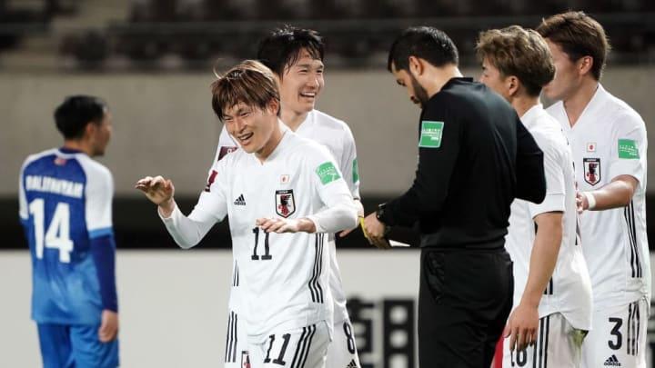Kyogo Furuhashi Eliminatórias Asiáticas Japão Mongólia