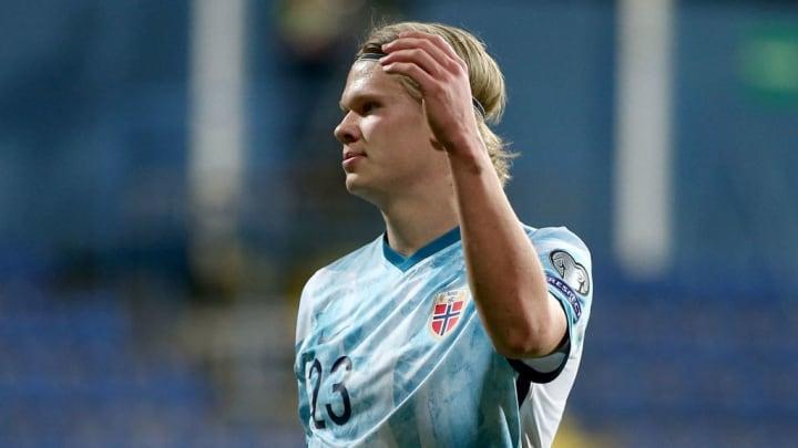 Erling Haaland Noruega Eliminatórias Copa do Mundo 2022
