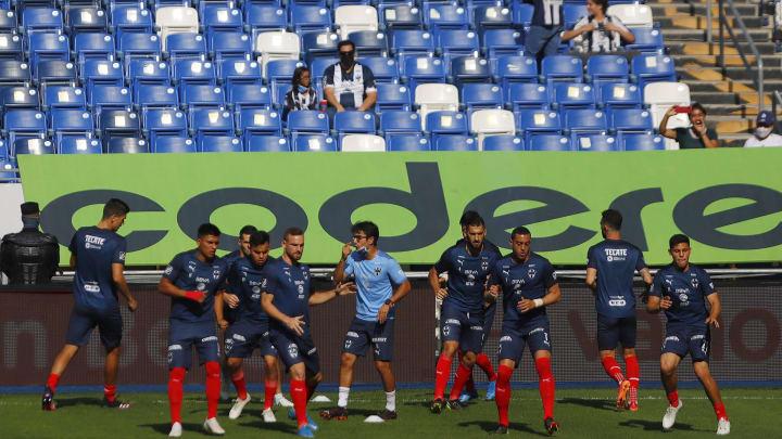 Jugadores de Rayados de Monterrey.