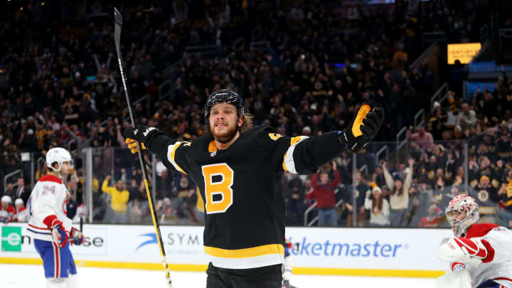 After a monster season, David Pastrnak will look to cap it off with a Stanley Cup this summer.